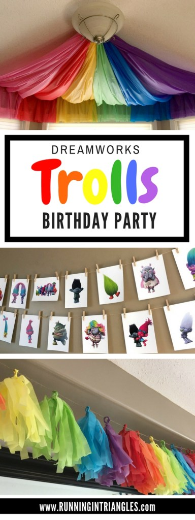 Dreamworks Trolls Inspired Party