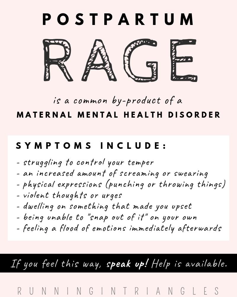 Postpartum Rage