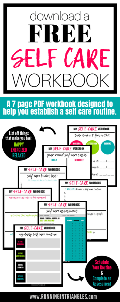 Download a Free Self Care Workbook