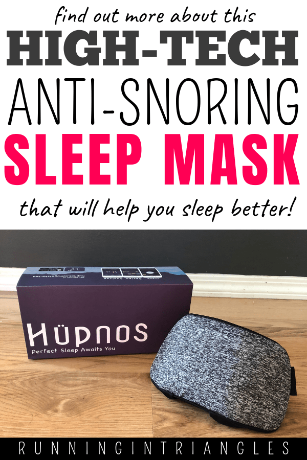 Hupnos, The High-Tech, Anti-Snoring Mask