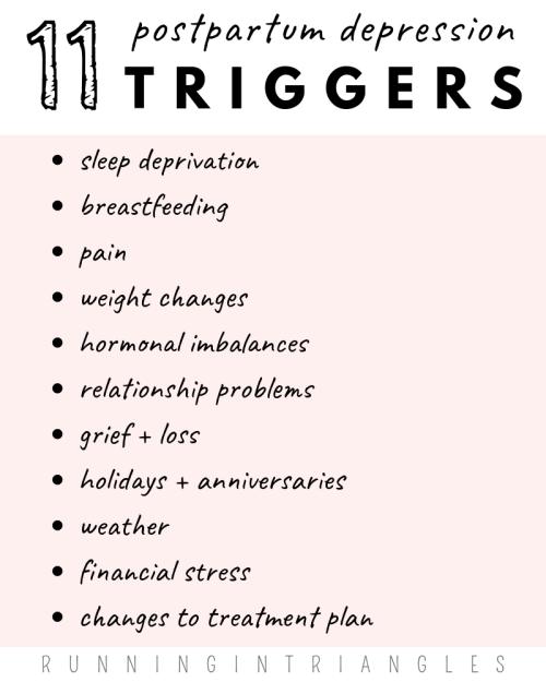 11 Postpartum Depression Triggers