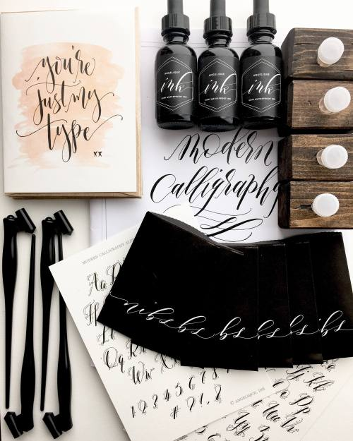 A Calligraphy Kit.