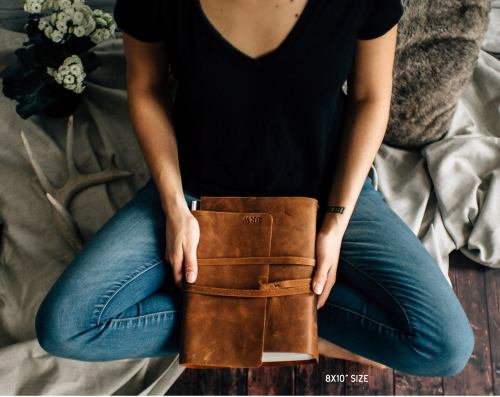 A Leather Journal.