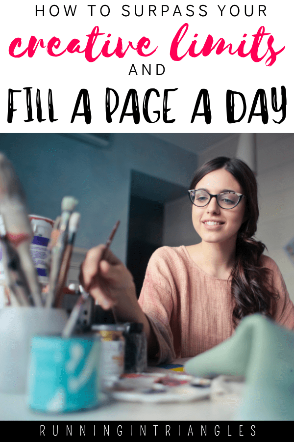 How to Surpass Your Creative Limits and Fill a Page a Day
