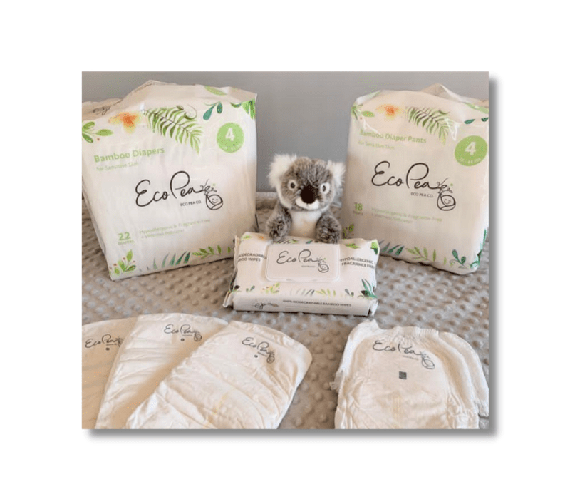 Eco-Friendly Bamboo Diapers and Wipes by EcoPeaCo