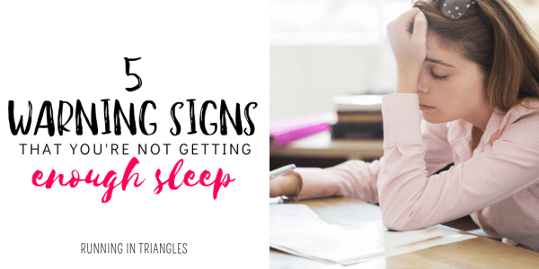 5 Warning Signs You're Not Getting Enough Sleep