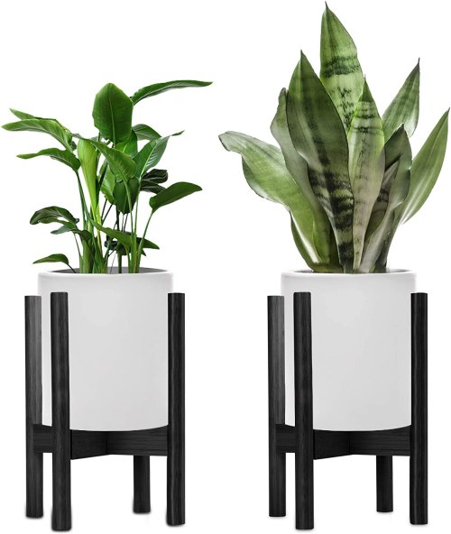 2 Pack Mid-century Modern Plant Stands