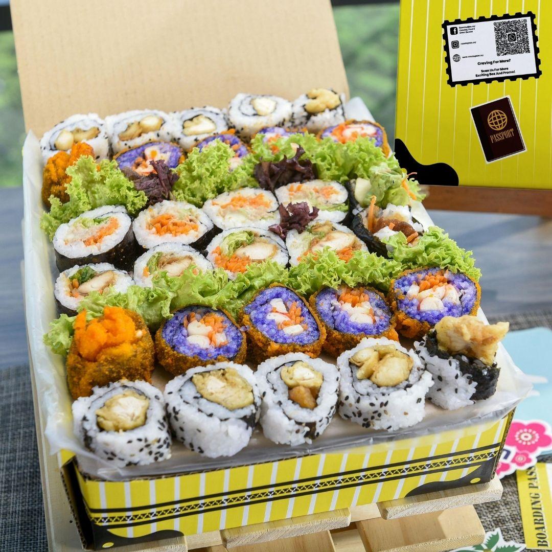 foodie box Small Korean Kimbap Box A