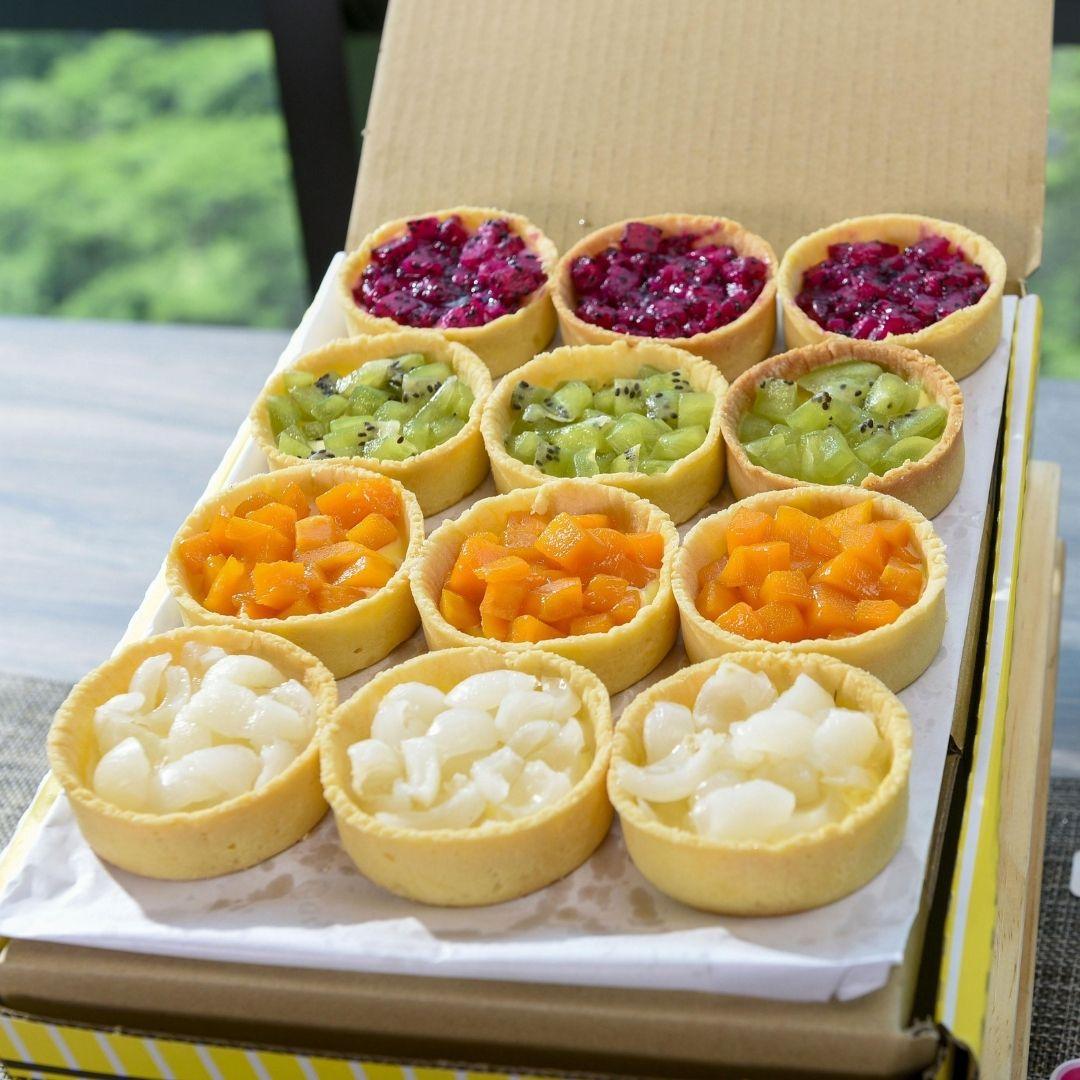 foodie box Small Round Fruit Tart Box