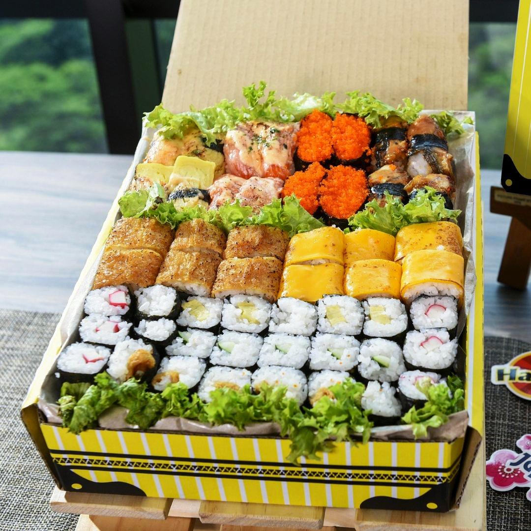 foodie box sushi box