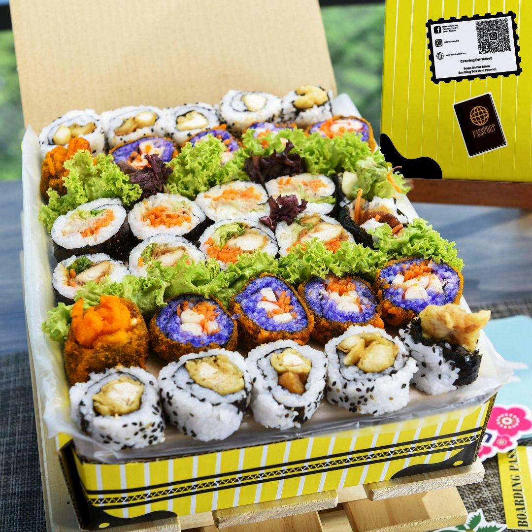 foodie box korean kimbap box