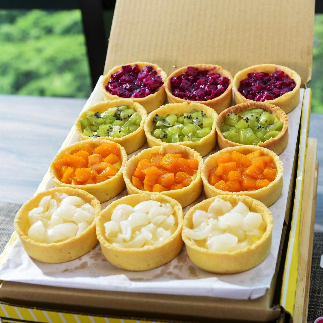 foodie box fruit tart