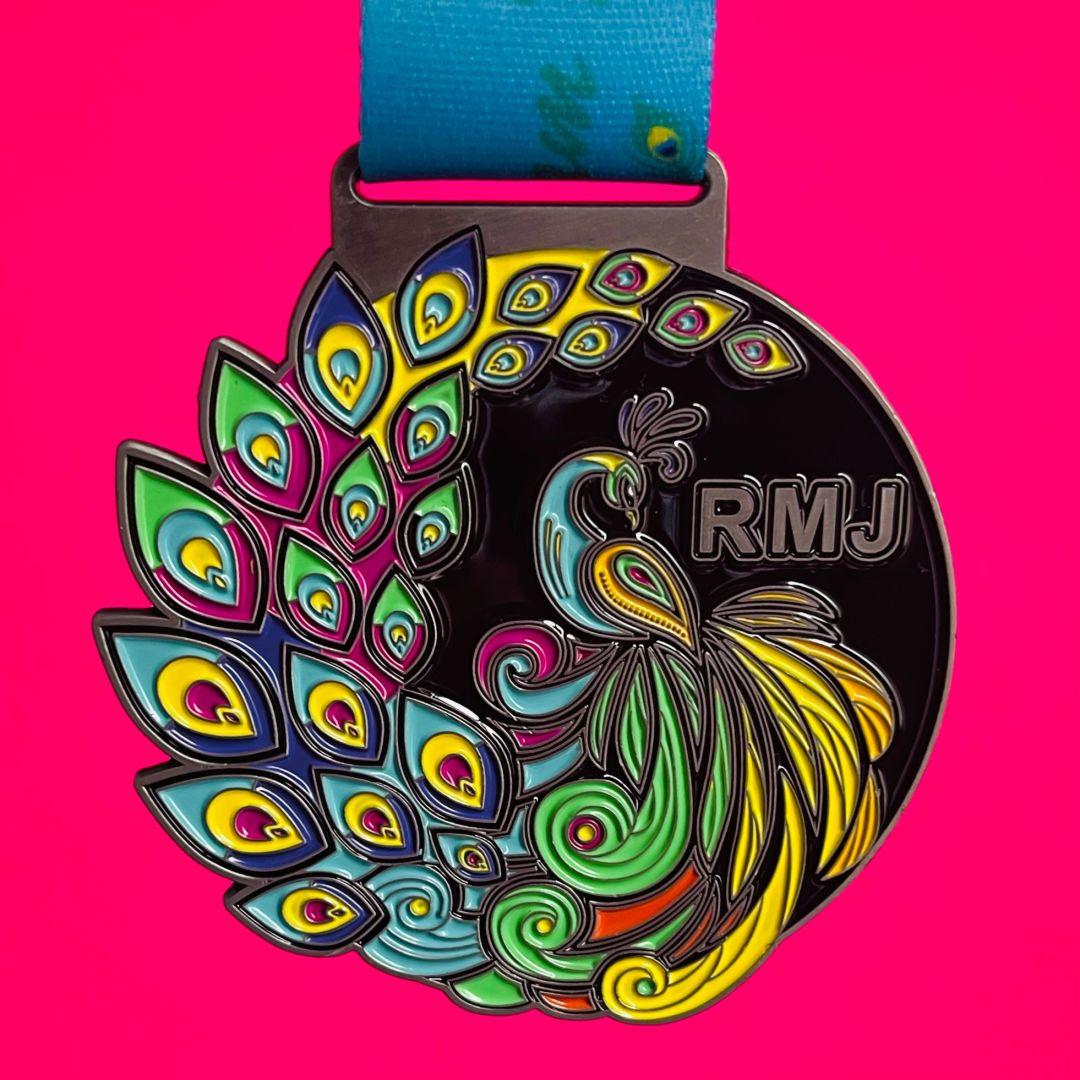 October Strut your Stuff for Macmillan Cancer Medal