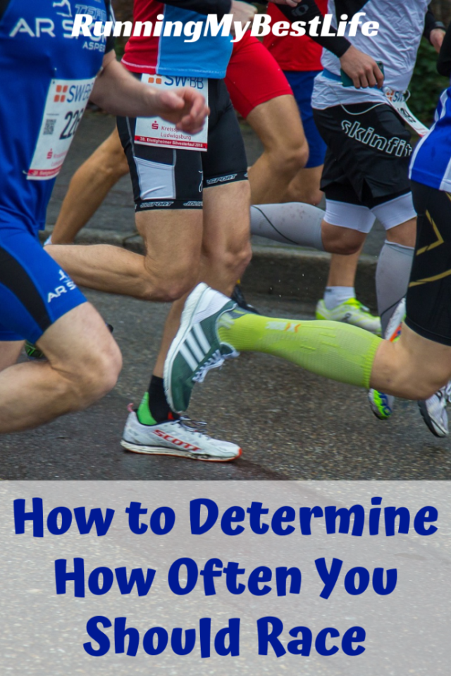 How to Determine How Often You Should Race