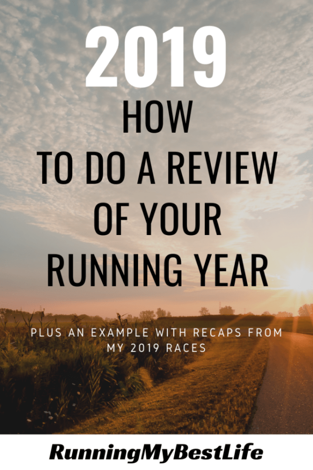 How to Do a Review of Your Running Year