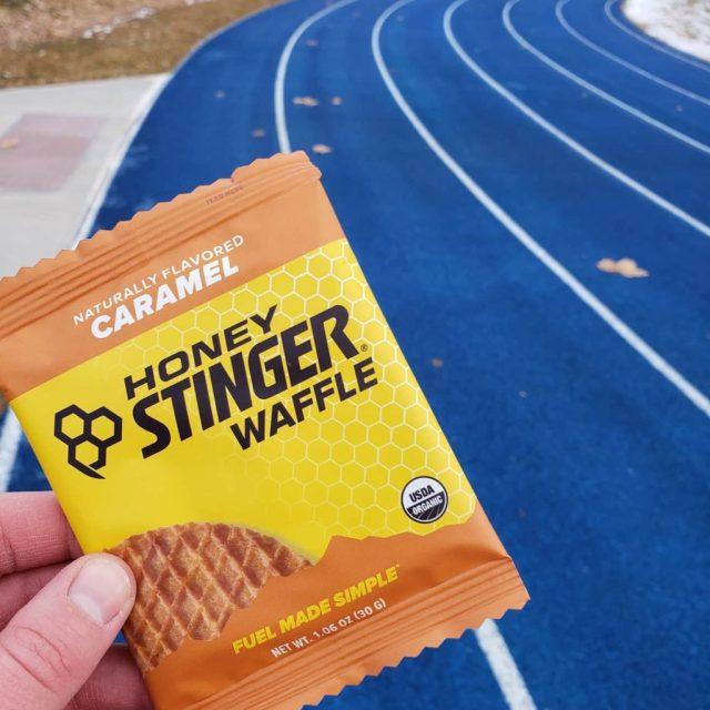 Honey Stinger Waffle Track Workout