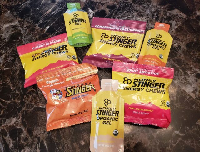 Honey Stinger Gels and Chews for Marathon Training