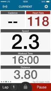 Wahoo Fitness App Running 1