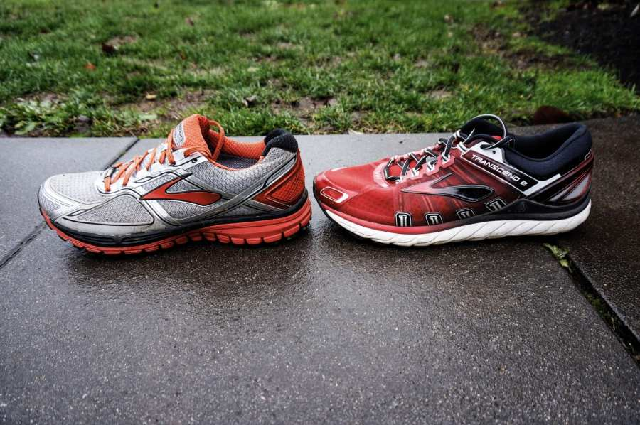 Brooks Ghost 8 GTX Review - Side by Side with Transcend 2