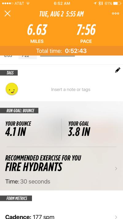 Lumo Run - App - Run Details 3