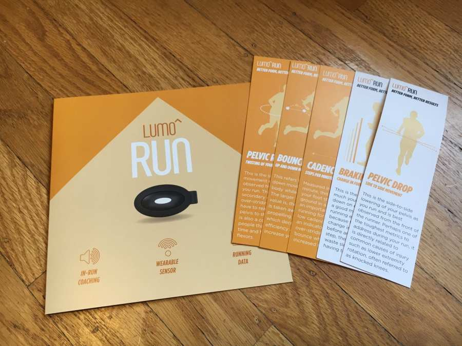 Lumo Run Package Materials