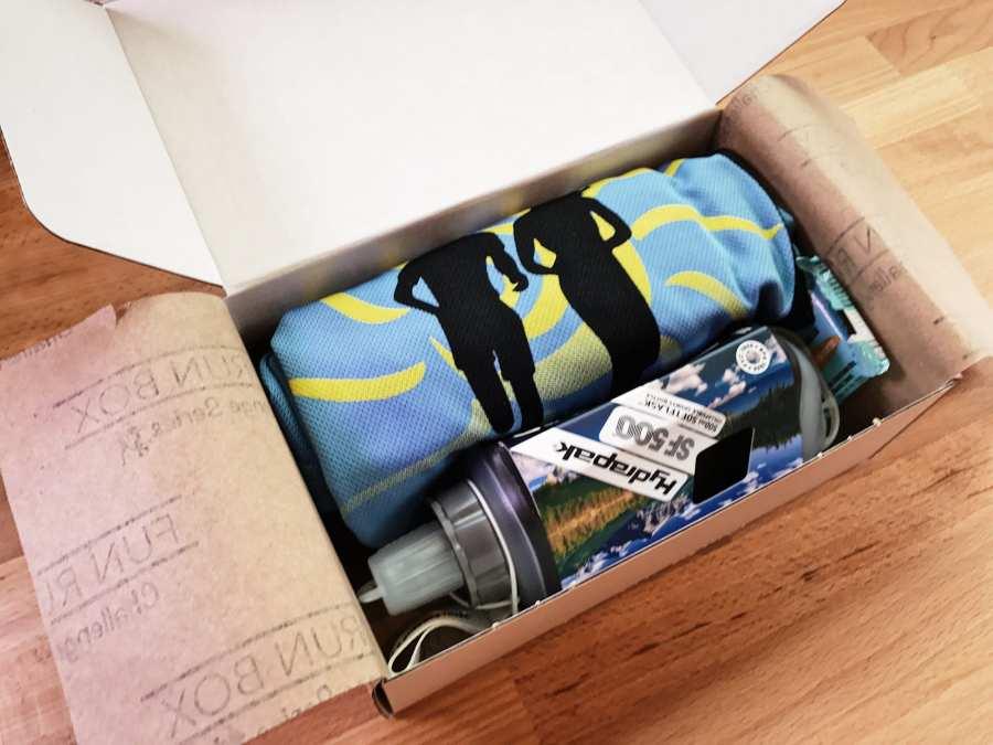 SubscriptionBox FunRunBox BoxOpen