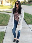 Velvet trend, fall trends, layering, casual outfit