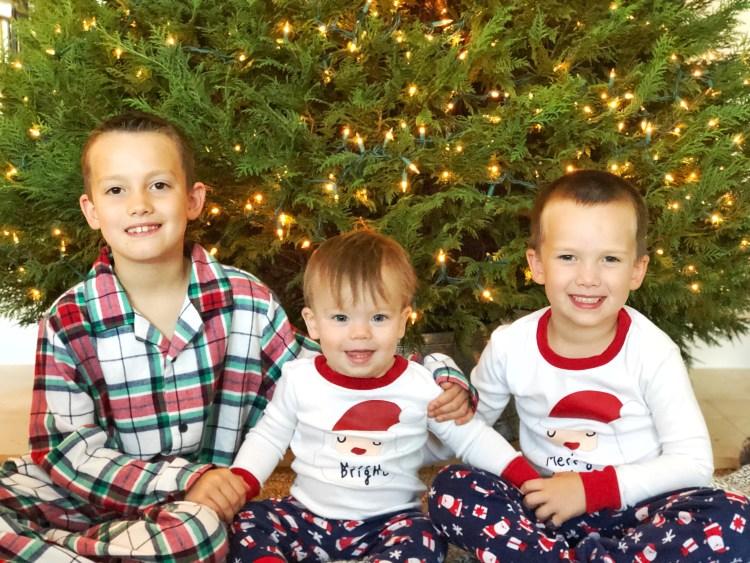 Boys Christmas Jammies2