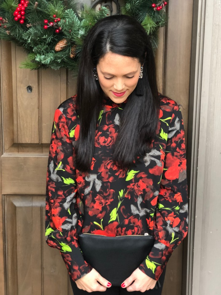 Target holiday blouse