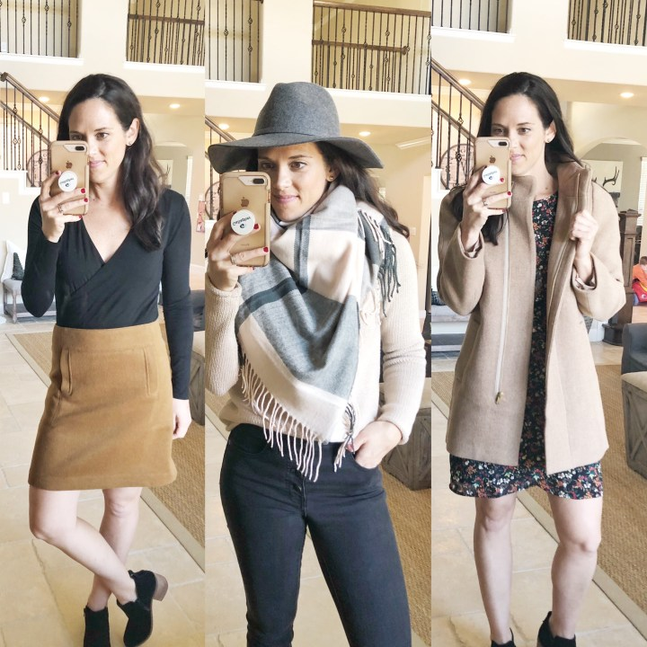 J.Crew Factory Fall Try-On