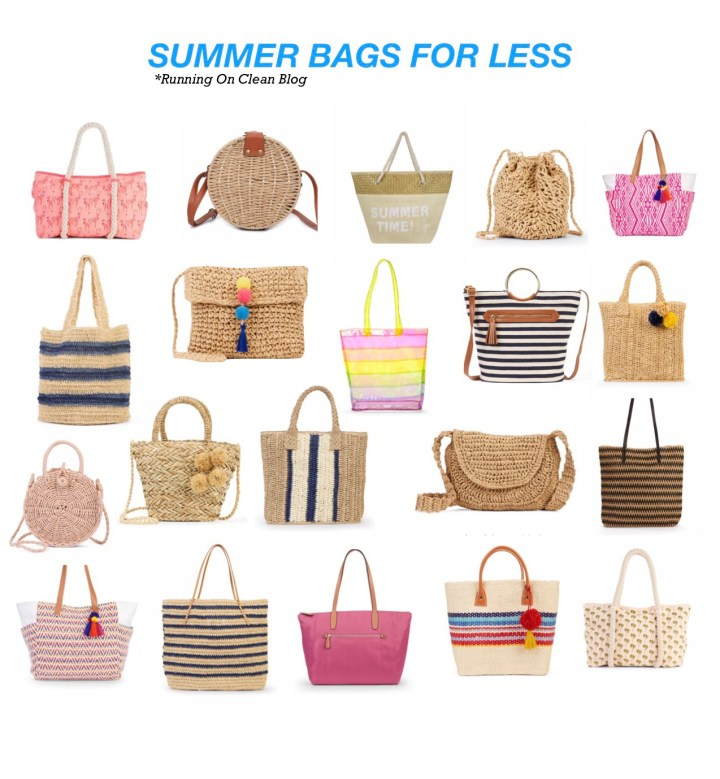 20 SUMMER BAGS FOR LESS