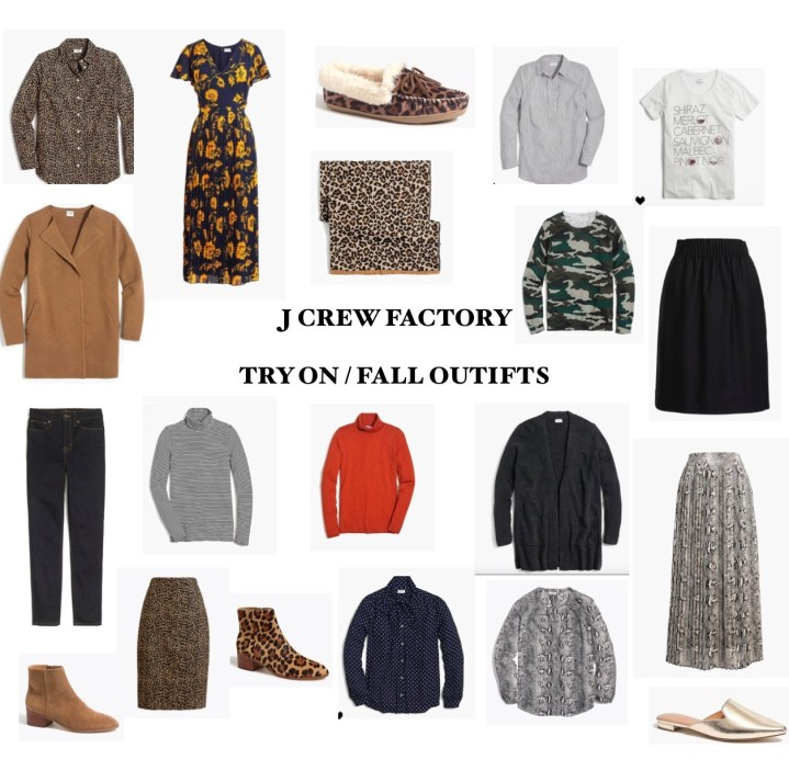 J CREW FACTORY FALL TRY-ON