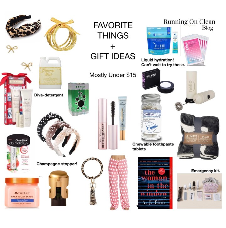 FAVORITE THINGS – GIFT IDEAS UNDER $15