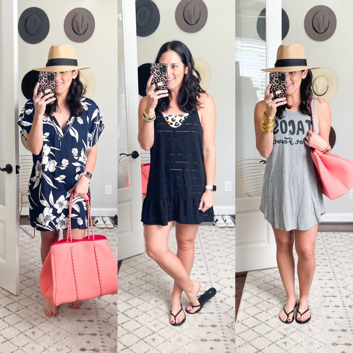 PART ONE – VACATION OUTFITS | SWIMSUITS, COVER UPS & MORE….