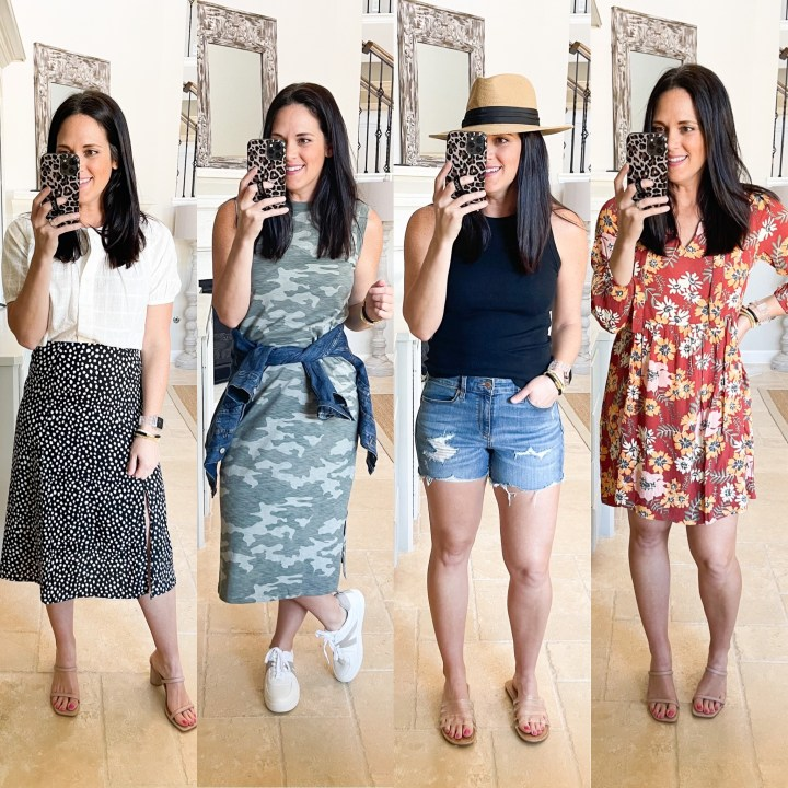 DRESSING ROOM TRY ON – WALMART, TARGET & MAURICE'S SPRING ARRIVALS