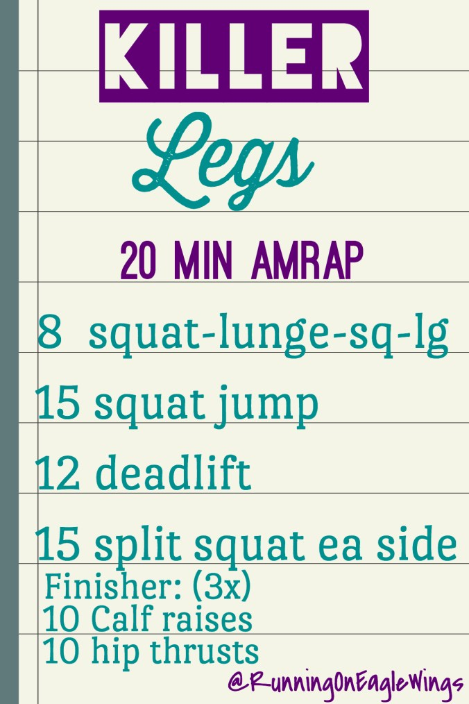 Killer Legs Home or Gym Workout