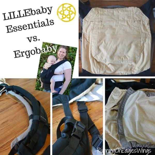 LILLEbaby Essentials vs. Ergobaby carrier