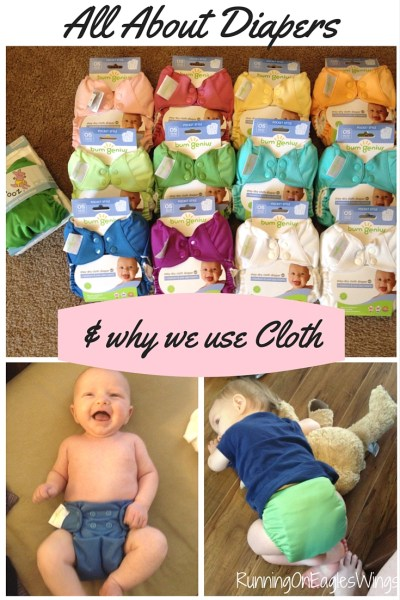 The Topic of Diapers & why we Cloth Diaper #clothdiapers