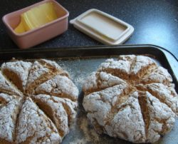 Wholegrain soda bread