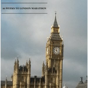 10 weeks to London Marathon