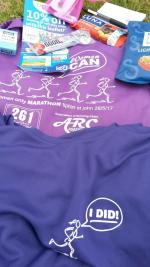 Women Can marathon goodie bag