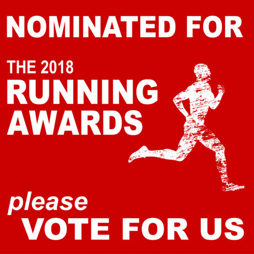 2018 Running Awards - Favourite blog
