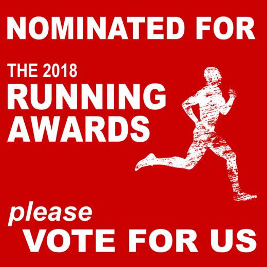 2018 Running Awards - Favourite blog