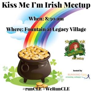 Kiss Me I'm Irish Meetup | Cleveland's Best Breweries | Running on Happy