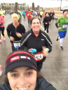 I may be the worst runfie-taker ever!