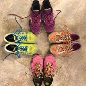 Training is Like Pregnancy   All the Running Shoes   Running on Happy