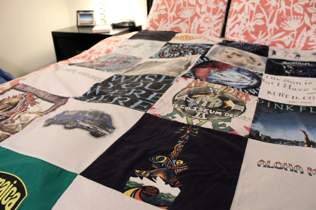 Project Repat T-Shirt Quilt Review: They're Amazing