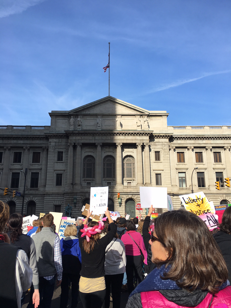 I went to the Women's March and it was an amazing, incredible, empowering experience. Plus some other random stuff happened this week!