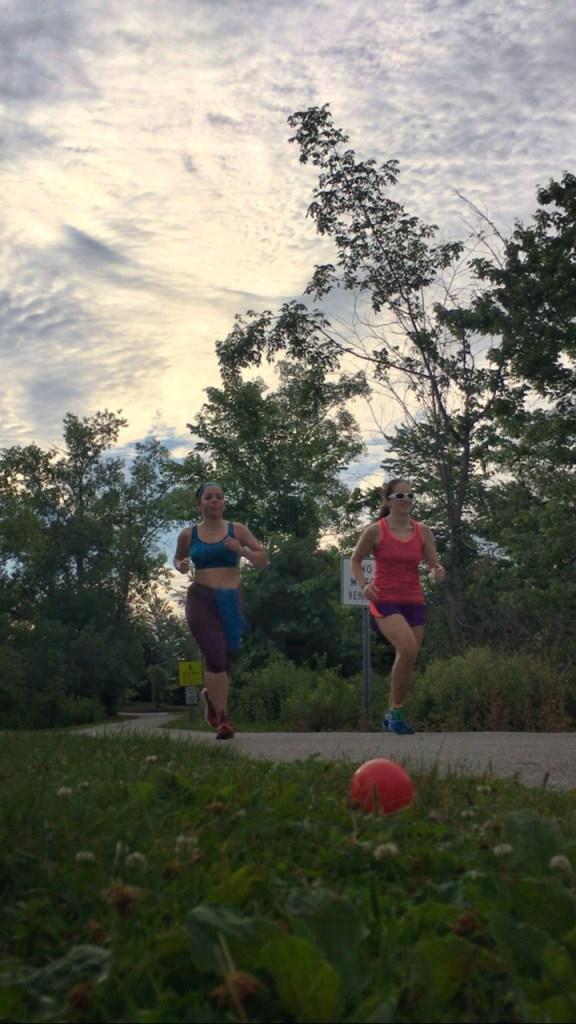 Easy Running {Marine Corps Marathon Training: Week 2} | Running on Happy