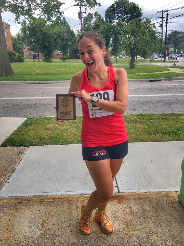 Midweek Long Run + B'nai B'rith Health Run 5K | Running on Happy